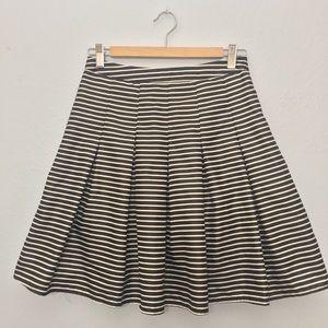 Black & white ModCloth circle skirt